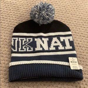 PINK nation winter beanie hat